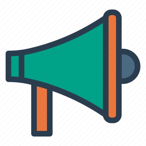 advertisment, announcement, marketing, megaphone icon