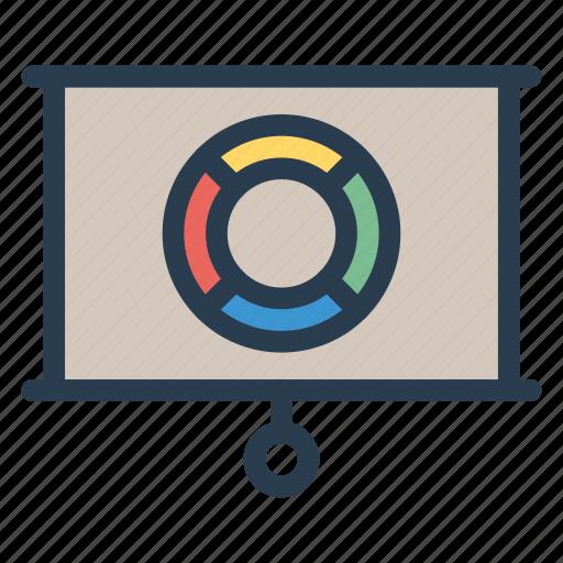 analytics, board, chart, graph icon