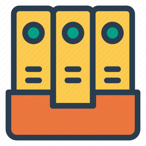 cabinet, document, drawer, files icon