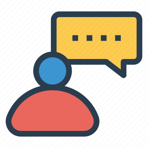 avatar, chat, comment, message, user icon