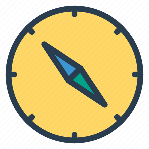 compass, direction, discover, navigation icon