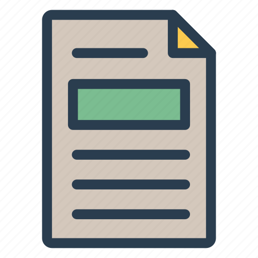 cv, document, file, office icon