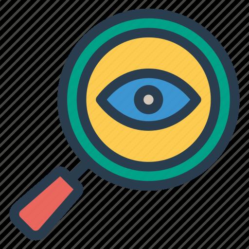 eye, search, seen, view icon