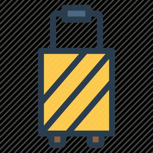 journey, luggage, suitcase, travel icon