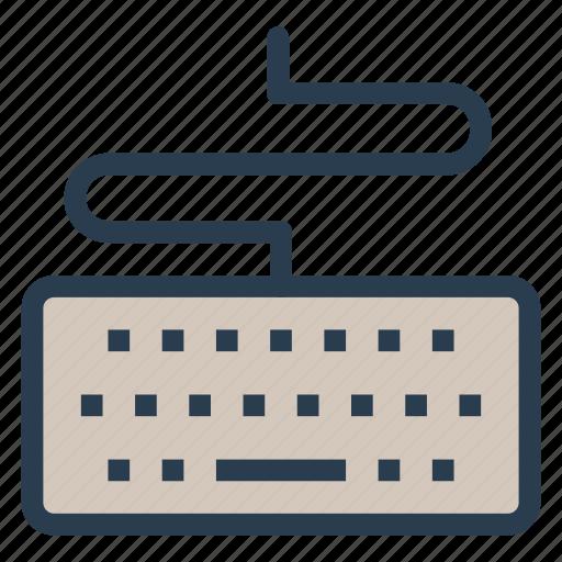 device, input, keyboard, keypad, typewriter icon