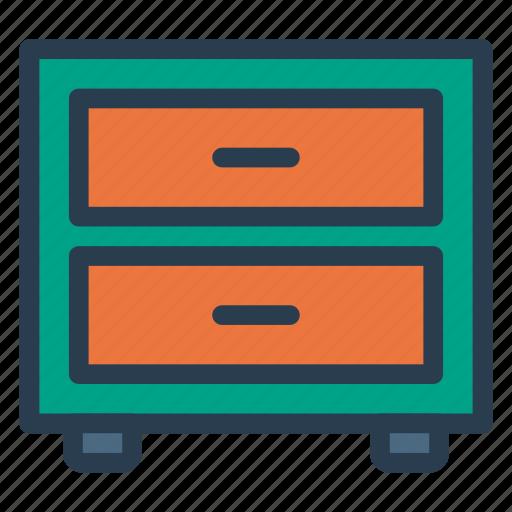 cabinets, drawer, kitchen, storage icon