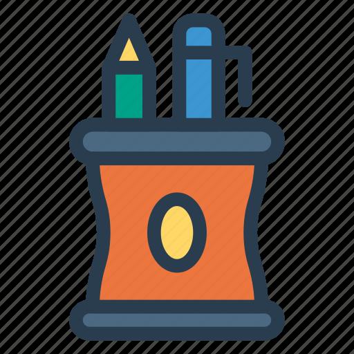 color, edit, jar, pencil icon