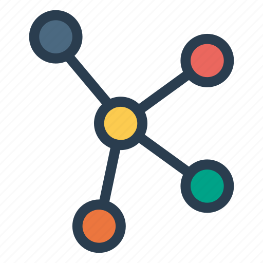 communication, computing, connection, network, relations icon