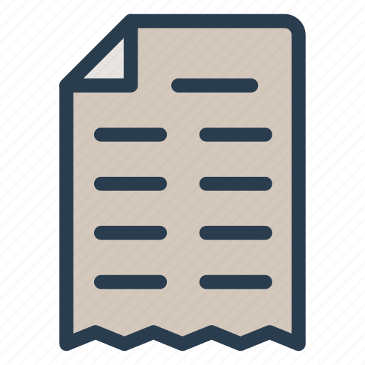 document, file, information, page icon