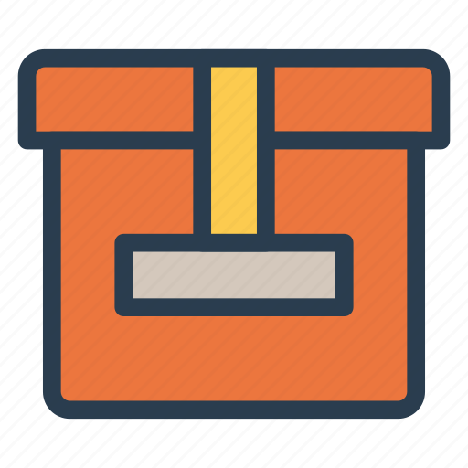 box, courier, packet, parcel icon