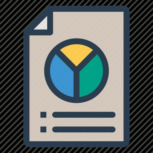 analytics, documents, files, report icon