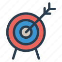 aim, fosuc, goal, target icon