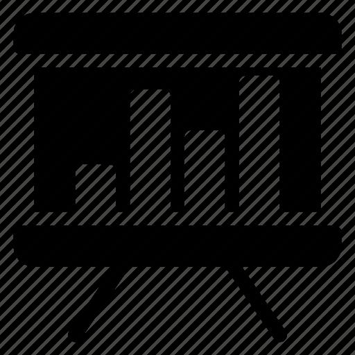 Board, chart, graph, presentation, statistics icon - Download on Iconfinder
