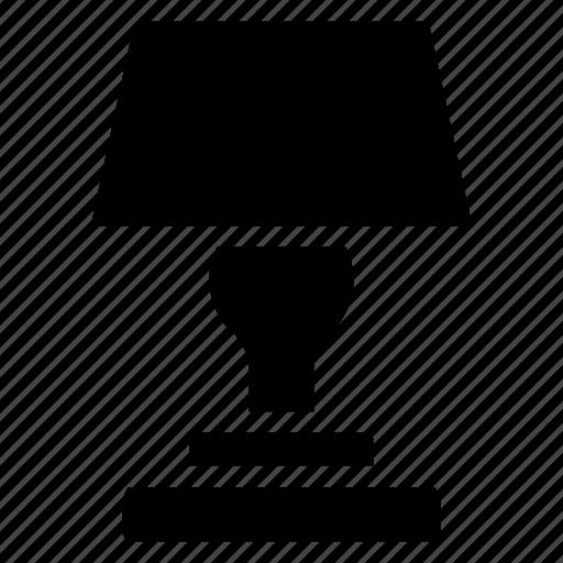bulb, lamp, shine, table icon