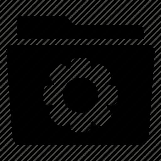 config, configuration, folder, setting, storage icon