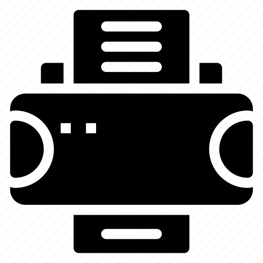 copy, device, press, print icon