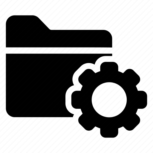 config, configuration, folder, setting icon