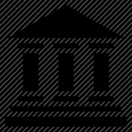 bank, building, cash, finance, savings icon