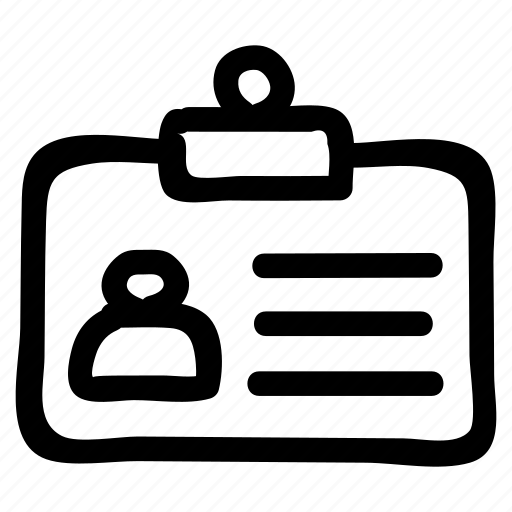 account, badge, card, id, idcard icon