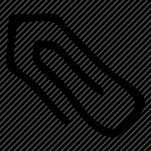 attach, attachment, clip, link, paperclip icon