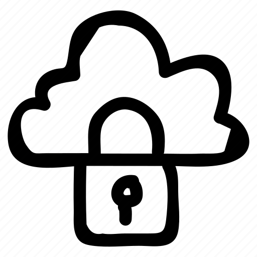 Cloud, lock, protection, security icon - Download on Iconfinder
