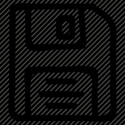 data, floppy, save, storage icon