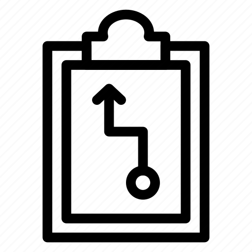 businessplan, clipboard, planning, solution, strategy icon