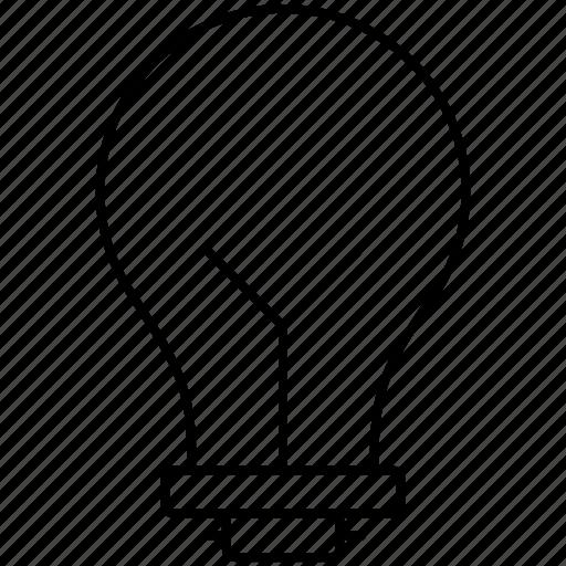 bulb, creative, idea, innovation icon