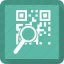 barcode, product, search, shopping icon