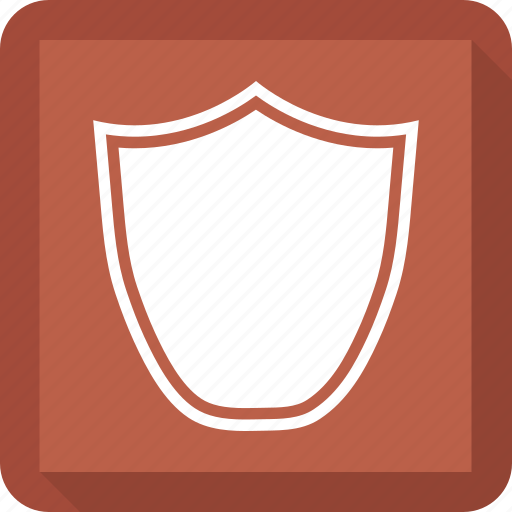security, shape, shield icon