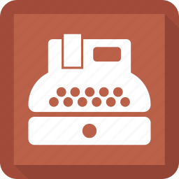 keyboard, paper, type, writer icon