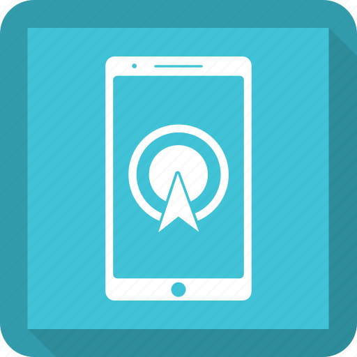gps, location, map, marker, mobile icon