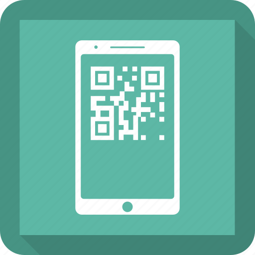barcode, mobile, parcel tracking, place order icon