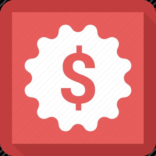 coin, dollar, finance, money, setting icon