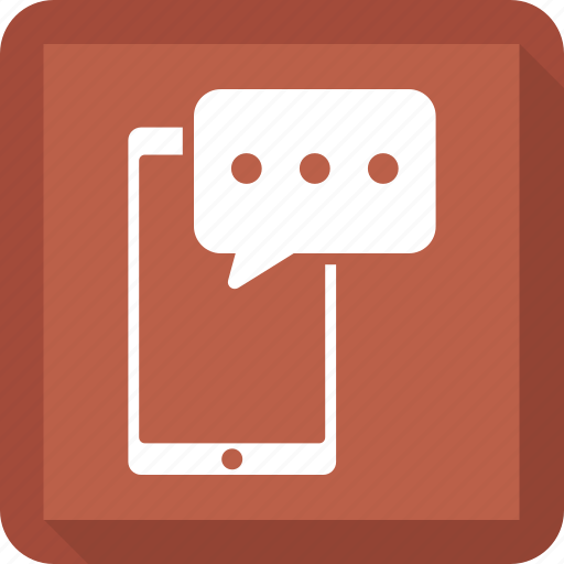 chat, message, mobile, msg, talk icon