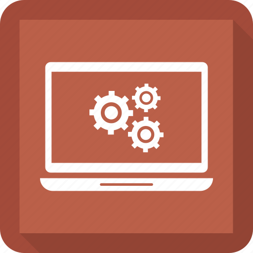 computer, laptop, mobile, monitor, setting icon