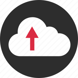 cloud, files, send, upload icon
