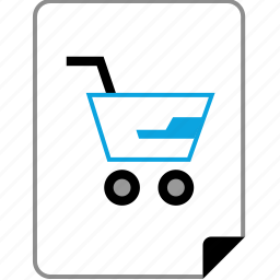 business, page, planning, shop icon