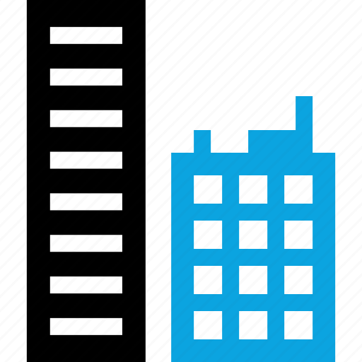 buildings, business, skyscraper, towers icon
