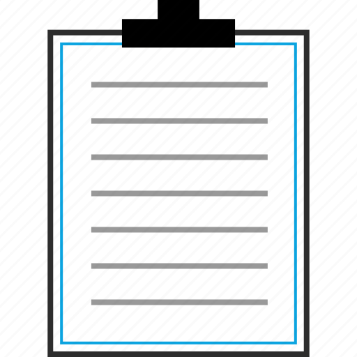 business, check list, clipboard, list icon