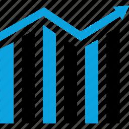 business, data, graph, report icon