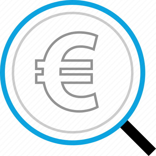 euro, look, money, pay icon