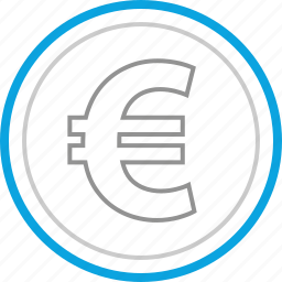 currency, euro, money, sign icon