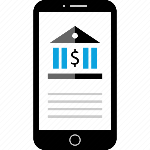 banking, business, funds, mobile icon