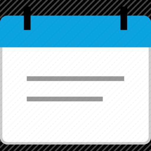 calendar, event, schedule, startup icon