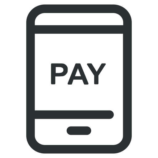 mobile, online, pay, payment, shopping icon icon