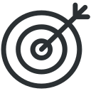 business, finance, goal, target icon icon