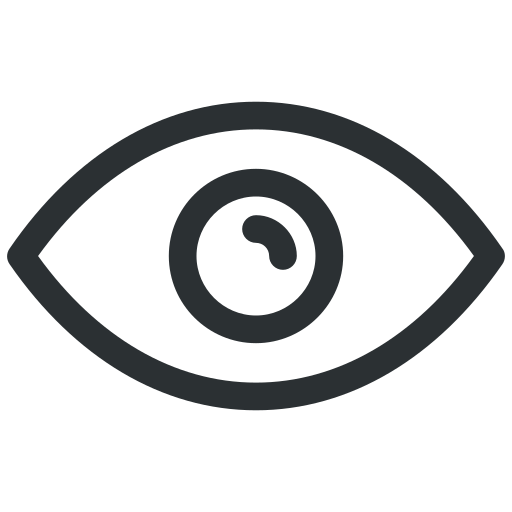 eye, eyes, face, makeup, red eye, see, vision icon icon
