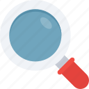 explore, find, magnifier, search icon icon