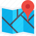 location, location pin, map, map pin, navigation icon icon